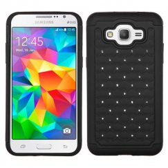 Samsung Galaxy Grand Prime Black/Black FullStar Case
