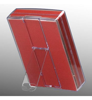 Transparant Packing Box (L=5.90*W=4.05*D=1.00 inch) (With Purplish Red Card)