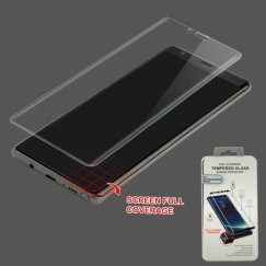 Samsung Galaxy Note 8 Full Caseage Tempered Glass Screen Protector/Transparent