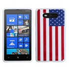 Nokia Lumia 820 United States National Flag Candy Skin Cover