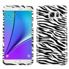 Samsung Galaxy Note 5 Zebra Skin Phone Protector Cover