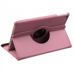 AppleiPad Mini 4th Gen Pink Premium Rotatable Wallet