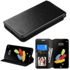 LG G Stylus 2 Black Wallet(with Tray)