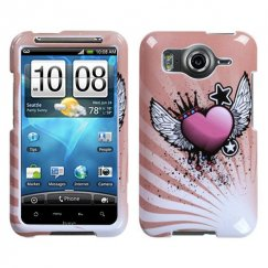 HTC Inspire 4G Crowned Heart Case