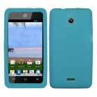 Huawei Valiant / Ascend Plus Solid Skin Cover - Tropical Teal