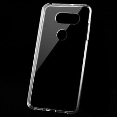 LG V30 Glossy Transparent Clear Candy Skin Cover