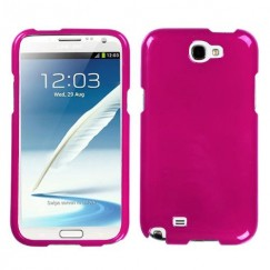 Samsung Galaxy Note 2 Solid Hot Pink Case