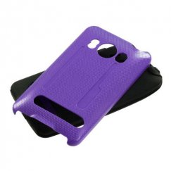HTC EVO 4G Solid Purple/Black Fusion Case