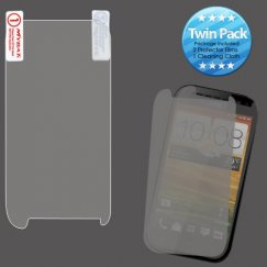 HTC One S Screen Protector Twin Pack