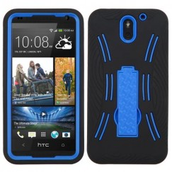 HTC Desire 610 Dark Blue/Black Symbiosis Stand Case