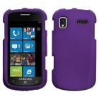 Samsung SGH-i917 Focus Grape Case - Rubberized