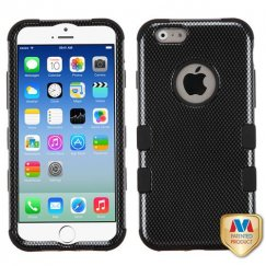 Apple iPhone 6/6s Carbon Fiber/Black Hybrid Case