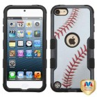 Apple iPod Touch (6th Generation) Baseball-Sports Collection/Black Hybrid Case