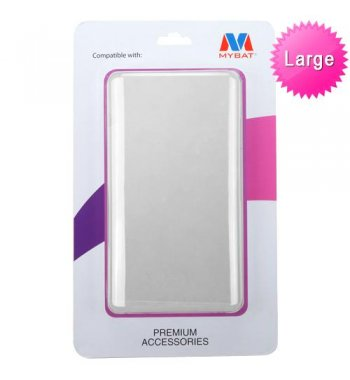 Plastic Packing With built-in Insert (L=7.30*W=4.00*D=0.80 inch) (Purple)