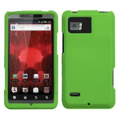 Motorola Droid Bionic Dr Green Case - Rubberized