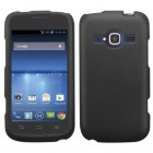 ZTE Concord 2 Black Case - Rubberized