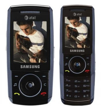 Samsung SGH-A737 ATT GSM Bluetooth MP3 Camera phone in BLUE