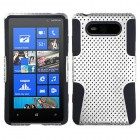 Nokia Lumia 820 White/Black Astronoot Phone Protector Cover