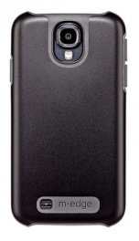 M-Edge Echo Series Dual Layer Protective Case Cover for Galaxy S4 - Black/Gray