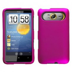 HTC HD7 Titanium Solid Hot Pink Case