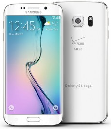 Samsung Galaxy S6 Edge SM-G925V 32GB Android Smartphone for Verizon - White Pearl