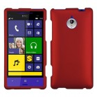HTC Windows Phone 8x Titanium Solid Red Phone Protector Cover