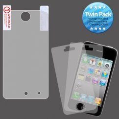 Apple iPod Touch (4th Generation) Screen Protector Twin Pack