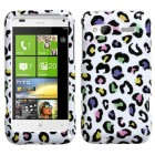 HTC Radar Colorful Leopard Phone Protector Cover