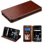 LG V20 Brown Wallet with Tray