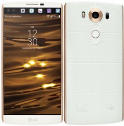 LG V10 64GB VS990 Android Smartphone for Verizon - Luxe White