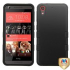 HTC Desire 626 Rubberized Black/Black Hybrid Case