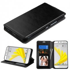 HTC Bolt Black Wallet with Tray
