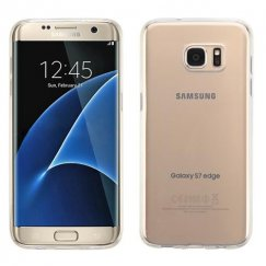 Samsung Galaxy S7 Edge Glossy Transparent Clear Candy Skin Cover