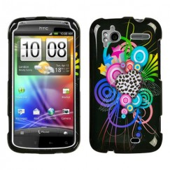 HTC Sensation 4G Love Leopard Case