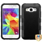 Samsung Galaxy Core Prime Natural Black/Black Hybrid Case