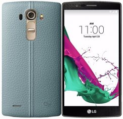 LG G4 32GB LS991 Android Smartphone - Sprint- Sky Blue Leather