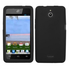 Huawei Valiant / Ascend Plus Solid Skin Cover - Black