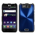 LG Viper Blue Cosmo Back Protector Cover