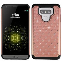 LG G6 Rose Gold/Black FullStar Case