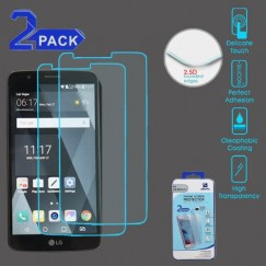 LG G Stylo 3 Tempered Glass Screen Protector (2.5D)(2-pack)