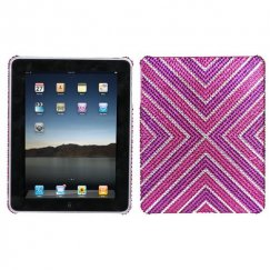 AppleiPad 1st Generation 2010 Cautions Diamante Back Case