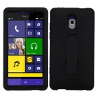 HTC Windows Phone 8x Black/Black Symbiosis Stand Protector Cover