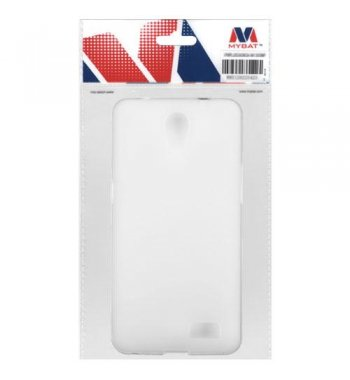 Semi Transparent White Candy Skin Cover - Rubberized