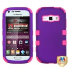 Samsung Galaxy Ring Rubberized Grape/Electric Pink Hybrid Case