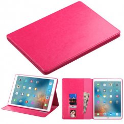 AppleiPad iPad Pro 12.9 2015 Hot Pink Wallet with Tray