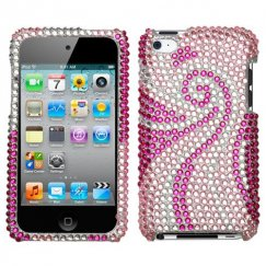Apple iPod Touch (4th Generation) Phoenix Tail Diamante Case