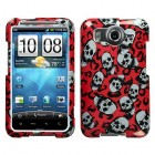 HTC Inspire 4G Leopard Skulls (Sparkle) Phone Protector Cover