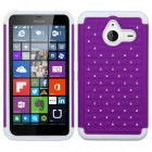 Nokia Lumia 640 Purple/Solid White FullStar Case