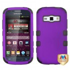 Samsung Galaxy Ring Rubberized Grape/Black Hybrid Phone Protector Cover
