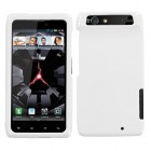 Motorola Droid RAZR Solid Ivory White Phone Protector Cover